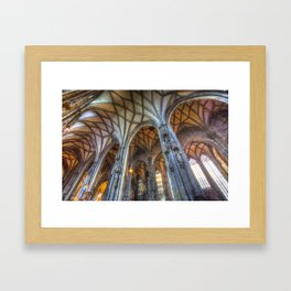 St Stephen's Cathedral Vienna Framed Art Print