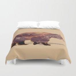 Glacier Grizzly Duvet Cover