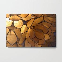 Light Background Metal Print