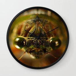 Cicada Chaos Wall Clock