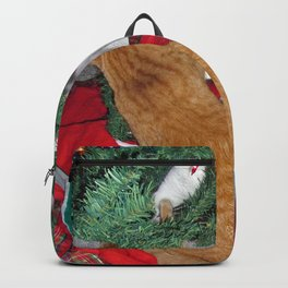12 cats a-climbing Backpack
