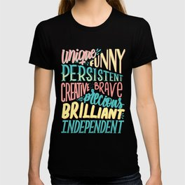Kind words only T-shirt