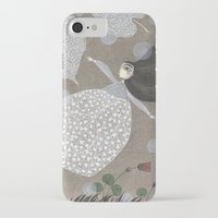sia iPhone & iPod Cases featuring Summer's End by Judith Clay