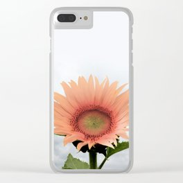 #sunflower Clear iPhone Case