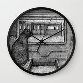 Serendipity I Wall Clock