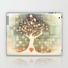 Tree and heart Laptop & iPad Skin