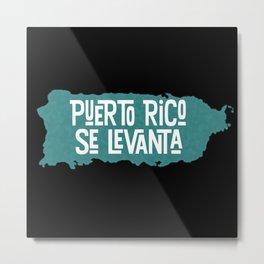 Puerto Rico Se Levanta Metal Print