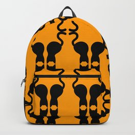 Black Cats & Pattern Backpack