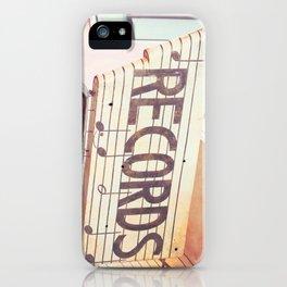 Records iPhone Case