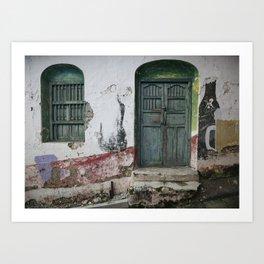 Doors of Antigua III Art Print