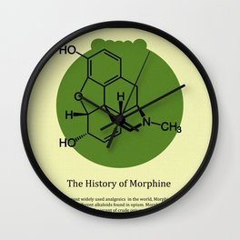 Morphine Wall Clock