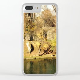 The autumn in the fort Clear iPhone Case