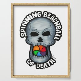 Spinning Beachball of Death Serving Tray