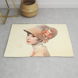 Audrey Hepburn - Eliza Doolittle - Watercolor Rug