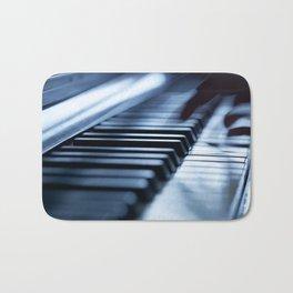 Musician play piano Bath Mat