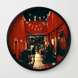 Santa Fe Nights Wall Clock