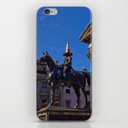 Duke of Wellington Statue, Glasgow, Scotland iPhone Skin
