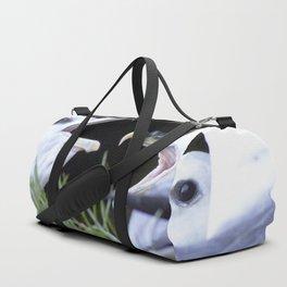 Watercolor Bird Atlantic Fulmar 01, Vik, Iceland Duffle Bag