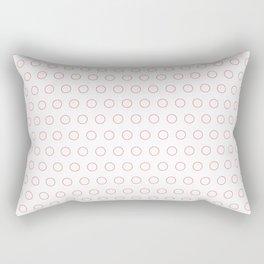 EMPTY DOT ((strawberry)) Rectangular Pillow