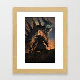 Terminator diablo Framed Art Print