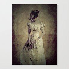 Classy Meets Selfie  (Vintage) Photogenic Series  Canvas Print