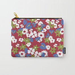 Modern bold liberty print Carry-All Pouch