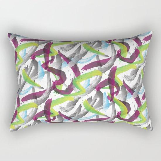 Purple shadows Pattern Rectangular Pillow