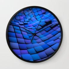 Blue Valley Wall Clock