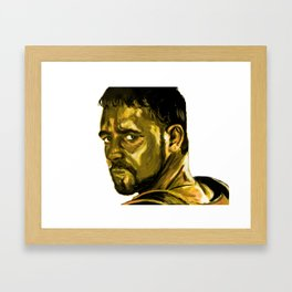 Gladiator (Russell Crowe) Framed Art Print