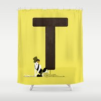 tiffany Shower Curtains featuring Tiffany & Brandon by ChicksAndType