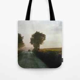 Drive into the Mist Tote Bag