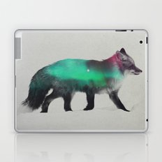 Fox In The Aurora Borealis Laptop & iPad Skin