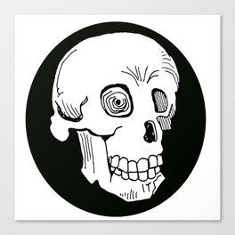 Skull Trance Canvas Print