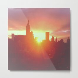 6:30am, New York Metal Print