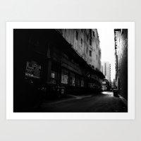 Melbourne Alleyway #2 Art Print