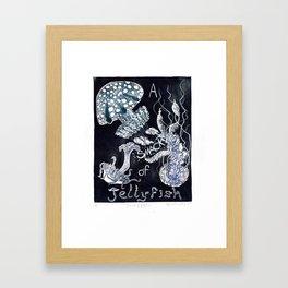 A Smack of Jellyfish Framed Art Print
