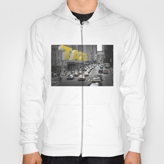 New York Taxi in the air Hoody