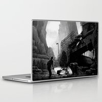 last of us Laptop & iPad Skins featuring The Last of Us  by Simon Lutrin