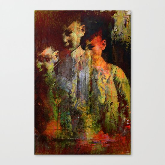 The ghost of the son Olsen Canvas Print