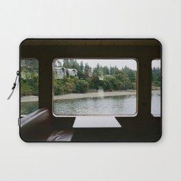 Ferry Ride to Bainbridge Island, WA Laptop Sleeve