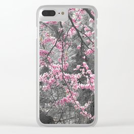 Under The Redbud Tree Clear iPhone Case