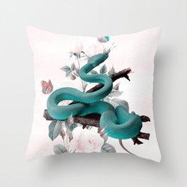 SNAKE 2 Throw Pillow