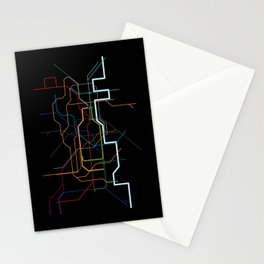 London Tube Map Stationery Cards