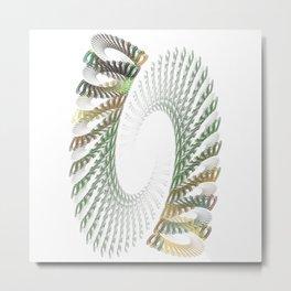 Spiral Stair Metal Print