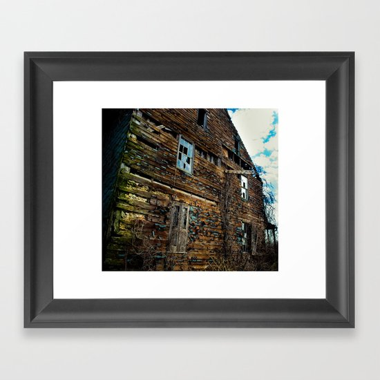 Exterior Framed Art Print
