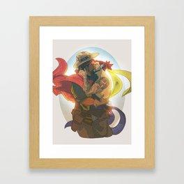 Where to Start Framed Art Print