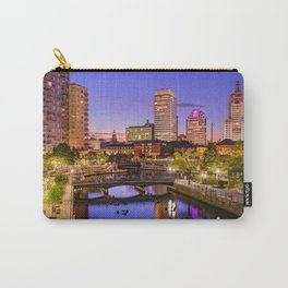 Waterplace Park - Providence, Rhode Island Twilight Sunset Carry-All Pouch