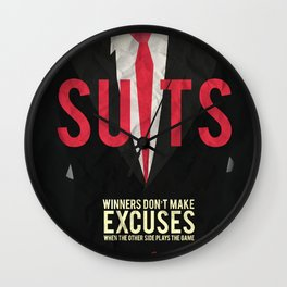 Suits - Harvey Specter Wall Clock