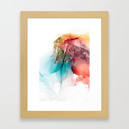 Abstract Dragons Framed Art Print