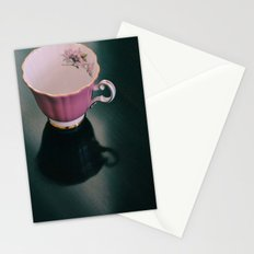 Pink Teacup Stationery Cards